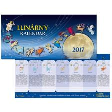 SmartCalendart Kft. - SG Naptár Hold asztali naptár 2017 29x14cm