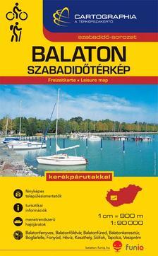 Cartographia Kiadó - BALATON SZABADIDŐTÉRKÉP 1:90000 -