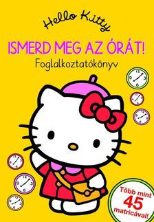65193 - Hello Kitty - Ismerd meg az �r�t! Foglalkoztat�k�nyv