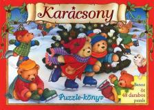 - KAR�CSONY - PUZZLE-K�NYV (�J!)