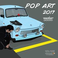 SmartCalendart Kft. - Naptár 2017 Pop Art 30*30 cm
