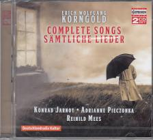 KORNGOLD - COMPLETE SONGS,2 CD