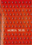 Veres G�bor (szerk.), Petercs�k Tivadar - Agria XLII. [antikv�r]