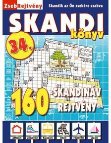 CSOSCH KIADÓ - ZsebRejtvény SKANDI Könyv 34.
