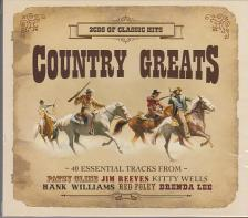 - COUNTRY GREATS - 40 ESSENTIAL TRACKS 2CD