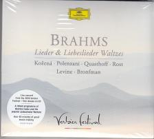 BRAHMS - LIEDER&LIEBESLIDER,CD