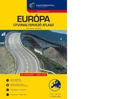 . - Európa útvonaltervező atlasz