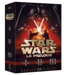 - STAR WARS  I,II,III  3DVD
