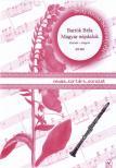 Bartók Béla - MAGYAR NÉPDALOK KLARINÉTRA ÉS ZONGORÁRA (ÁTDOLGOZTA: SOLYMOSI SEBESTYÉN)