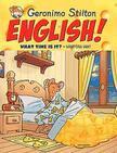 Geronimo Stilton - English! What Time is it? - Hány óra van?
