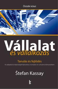 Stefan, Kassay - V�llalat �s v�llalkoz�s V. k�tet. Tanul�s �s fejl�d�s