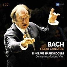Nikolaus Harnoncourt - BACH - GREAT CANTATAS - 7 CD