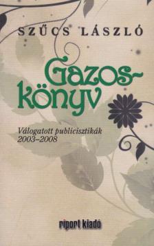 Szűcs László - Gazos-könyv
