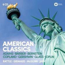 SIMON RATTLE - BERNSTEIN, COPLAND: AMERICAN CLASSICS - 6 CD