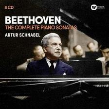 ARTUR SCHNABEL - BEETHOVEN - �SSZES ZONGORA SZON�TA - 8 CD