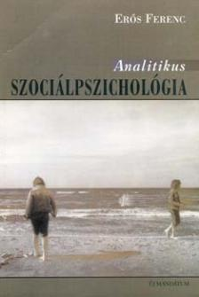 Erős Ferenc - ANALITIKUS SZOCIÁLPSZICHOLÓGIA