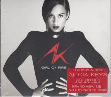 ALICIA KEYS - GIRL ON FIRE CD ALICIA KEYS