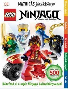 - Lego Ninjago matricás játékkönyv