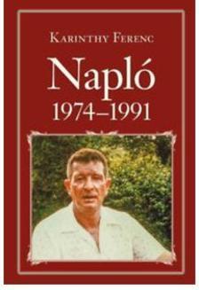 Karinthy Ferenc - Napl� 1974-1991 - Nemzeti K�nyvt�r 59.