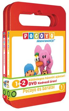 Zinkia Entertainment - Pocoyo DVD 1-2 díszszalaggal