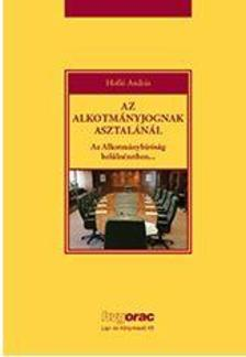 Holló András - Az alkotmányjognak asztalánál