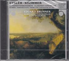 KROMMER, HUMMEL, EYBEL - KLARINETTENKONZERTE  CD