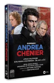 ROYAL OPERA HOUSE, ANTONIO PAPPANO - GIORDANO: ANDREA CHÉNIER - DVD