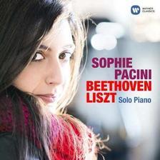 SOPHIE PACINI - BEETHOVEN �S LISZT ZONGORAM�VEK - CD
