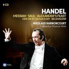 Nikolaus Harnoncourt - HANDEL - ORATÓRIUMOK - 9 CD