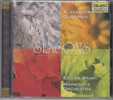 GLAZUNOV - THE SEASONS CD