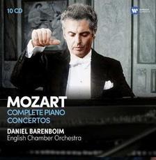 DANIEL BARENBOIM - MOZART - ÖSSZES ZONGORAVERSENY - 10 CD