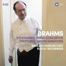 Nikolaus Harnoncourt - BRAHMS - ÖSSZES SZIMFÓNIA - 5 CD