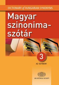 - Magyar szinonimasz�t�r 3 az egyben