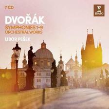 LIBOR PEŠEK - DVOŘÁK - ÖSSZES SZIMFÓNIA - 7 CD