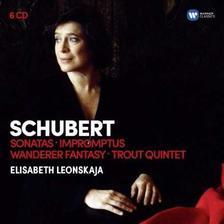 ELISABETH LEONSKAJA - SCHUBERT: PISZTRÁNGÖTÖS - 6 CD