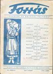 Hankiss J�nos - Forr�s 1943/m�rcius I. �vf. 3. sz�m [antikv�r]