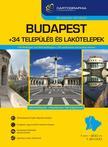 . - Budapest + 34 település és lakótelepek atlasz