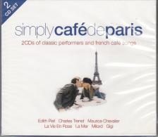 Vál. - SIMPLY CAFÉ DE PARIS 2CD
