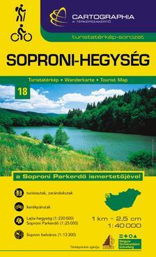 Cartographia Kiad� - SOPRONI-HEGYS�G TURISTAT�RK�P -