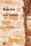 BEECKE, NOTGER IGNAZ FRANZ VON - ZWEI SONATEN FÜR PIANOFORTE,  ERSTAUSGABE