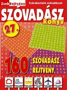 CSOSCH KIADÓ - ZsebRejtvény SZÓVADÁSZ Könyv 27.