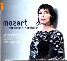 MOZART - DESPERATE HEROINES CD SANDRINE PIAU, IVOR BOLTON