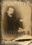 Szabó Ervin - Szabó Ervin levelezése II. kötet [eKönyv: epub,  mobi]