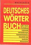 Mackensen, Lutz - Deutsches wörterbuch [antikvár]