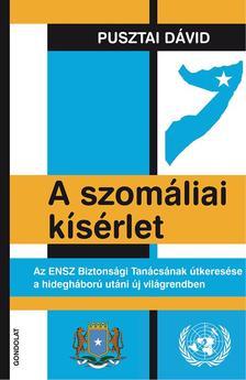 Pusztai Dávid - A szomáliai kísérlet. Az ENSZ Biztonsági Tanácsának útkeresése a hidegháború utáni új világrendben