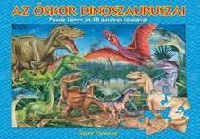 - Az őskor dinoszauruszai - Puzzle könyv