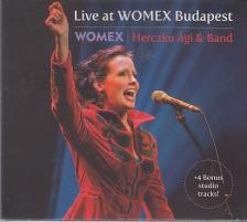 - LIVE AT WOMEX BUDAPEST CD HERCZKU ÁGI & BAND