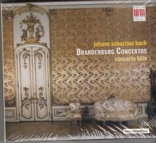 Bach - BRANDENBURG CONCERTOS 2CD CONCERTO KÖLN