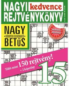 CSOSCH KIAD� - Nagyi Kedvence Rejtv�nyk�nyv 15.