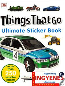. - Things that go matricavilág - angol nyelvű matricás foglalkoztató